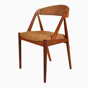 Chaise d'Appoint par Kai Kristiansen pour Schou Andersen, Danemark, 1950s