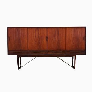 Danish Teak Highboard by Sofus Jørgensen, 1960s
