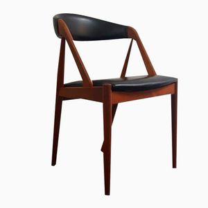 Model 31 Teak A Frame Chair by Kai Kristiansen for Schou Andersen, 1960s