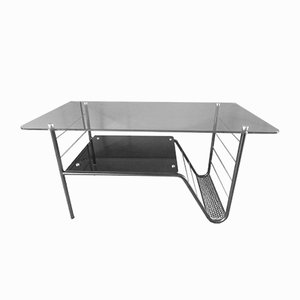 French Table with Magazine Holder by Pierre Guariche for Airborne, 1950s