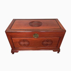 Chinese Mahogany Chest, 1950s