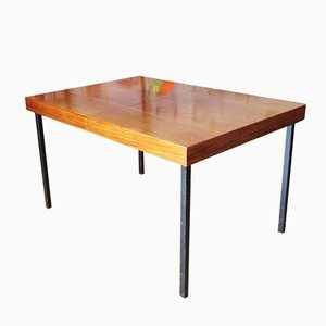 Extendable Teak Dining Table by Dieter Wäckerlin for Idealheim