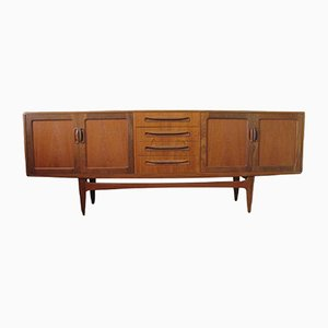Fresco Teak Credenza Sideboard by Victor Wilkins for G-Plan, 1950s