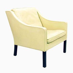 Modell 2207 Stuhl von Borge Mogensen für Fredericia, 1970er