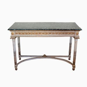 Antique Neoclassical Console Table