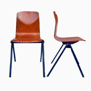 Schichtholz Stühle von Galvanitas, 4er Set
