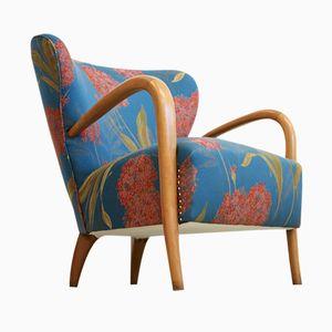 Italienischer Esche Sessel, 1960er