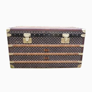 Checkered Steamer Trunk from Moynat, 1930