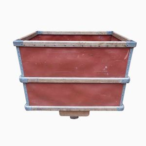 Industrial Crate with Wheels by Suroy, 1950s