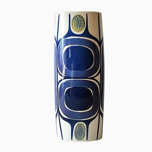 Tall Danish Vase by Inge-Lise Koefoed for Royal Copenhagen, 1960s