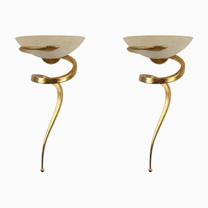Scavo Wall Sconces by Enzo Ciampalini for Lamp International, 1980s, Set of 2