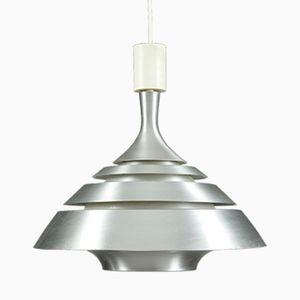 Aluminum Space Age Pendant Lamp, 1970s