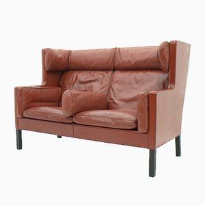 Dänisches Zwei-Sitzer Sofa von Børge Mogensen für Fredericia, 1977