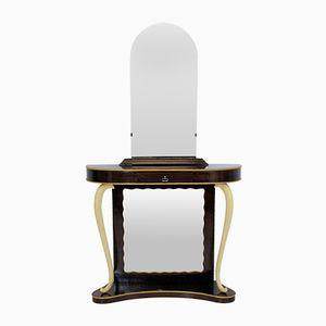 Italienischer Vintage Konsolentisch & Spiegel