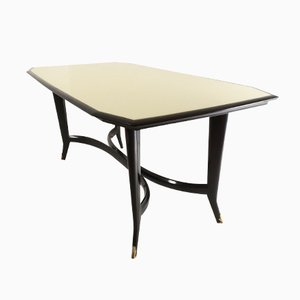 Ebonized Beechwood Table, 1950s