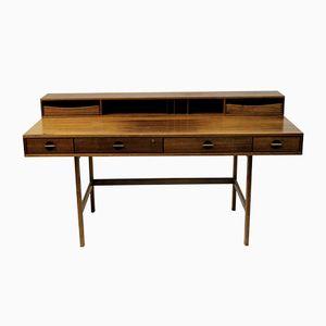 Nussholz Flip-Top Schreibtisch von Jens Quistgaard für Løvig
