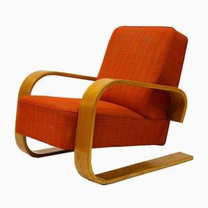 Modell 400 Tank Stuhl von Alvar Aalto für Artek, 1950er