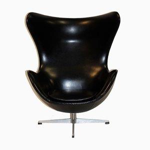 Vinyl Egg Stuhl von Arne Jacobsen für Fritz Hansen, 1961