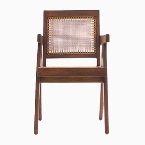 Vintage Teak Armlehnstuhl von Pierre Jeanneret für Chandigarh