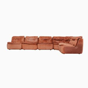 Plus Modular Leather Sofa by Friedrich Hill for Walter Knoll