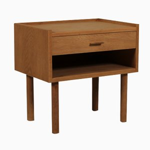 RY430 Oak Bedside Table by Hans J. Wegner for Ry Møbelfabrik, 1950s