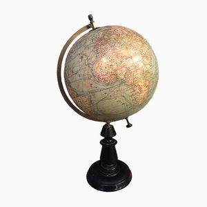 Antiker Französischer Globus von J. Forest