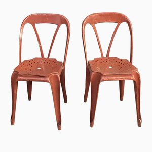 Vintage Multipl's Chairs by Joseph Mathieu, 1930s, Set of 2