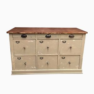 Nine Drawer French Haberdashery Chest