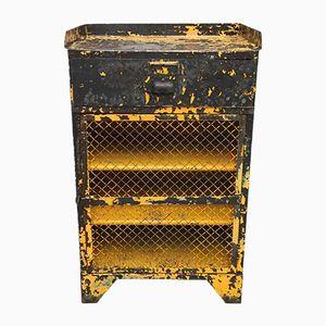 Vintage Industrial Workshop Tool Cabinet
