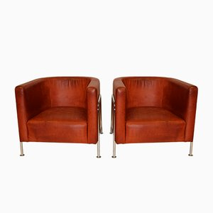 Lounge Chairs by Gunnar Asplund for Källemo Sweden, Set of 2