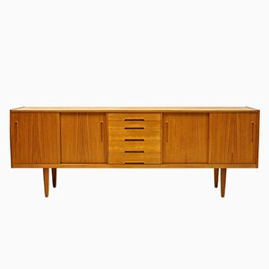 Mid-Century Model Gigant Teak Sideboard by Nils Jonsson for Troeds