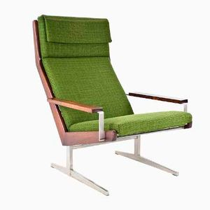 Dutch Lotus Easy Chair by Rob Parry for Gelderland, 1950s