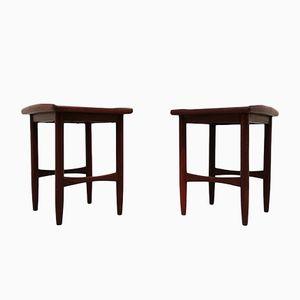 Danish Side Tables, 1960s, Set of 2