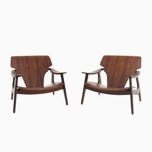 Brasilianische Diz Stühle von Sergio Rodrigues, 2002, 2er Set