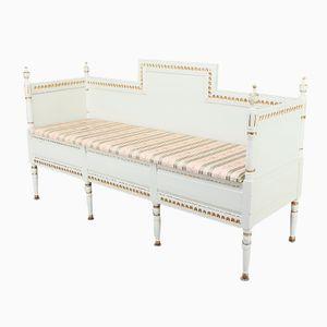 Antique Gustavian Bench