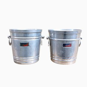 Vintage Italian Cinzano Wine Buckets, 1970s, Set of 2