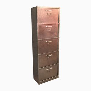 French Four-Drawer Locker, 1950s