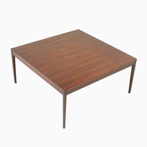 Square Diplomat Dining Table in Rosewood by Finn Juhl