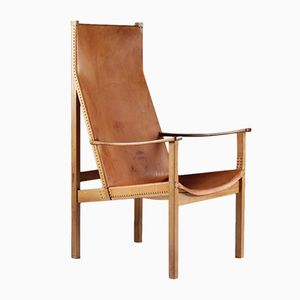 Swedish Armchair by Egon Jonason, 1960s