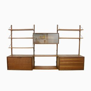Danish Bookshelf System by Poul Cadovius for Royal System, 1950s