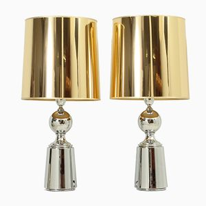 Spanish Table Lamps from Metalarte, 1970s, Set of 2