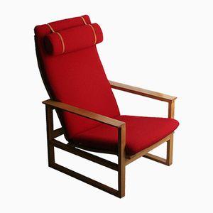 BM 2254 Sessel & Fußhocker von Borge Mogensen für Fredericia