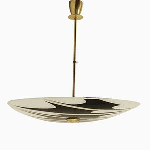 Czech Ceiling Light Plate from Napako, 1950s
