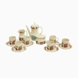 Vintage Porcelain Coffee Set by Jaroslav Ježek