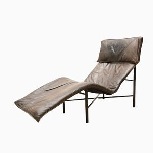 Leather Chaise Lounge by Gerard van den Berg, 1979