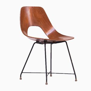 Ariston Chair by Augusto Bozzi for Saporiti, 1950s