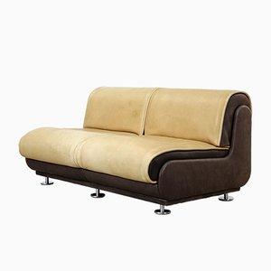 Zwei-Sitzer Sofa aus Nackenleder von de Sede, 1970er