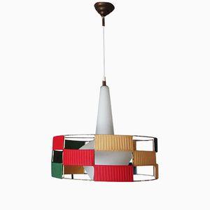 Vintage Tricolor Pendant Lamp