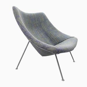 Großer Modell F157 Oyster Stuhl von Pierre Paulin für Artifort, 1959