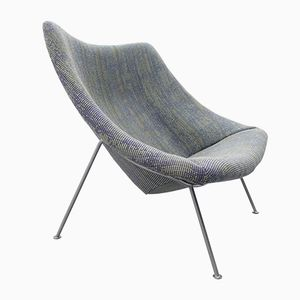 Model F157 Large Oyster Chair by Pierre Paulin for Artifort, 1959